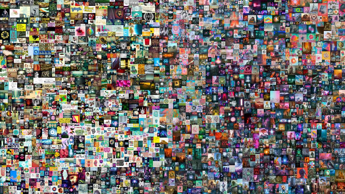 Un artista acaba de vender un archivo JPG por la suma récord de 69,3 millones de dólares como token no fungible, pero ¿qué es?