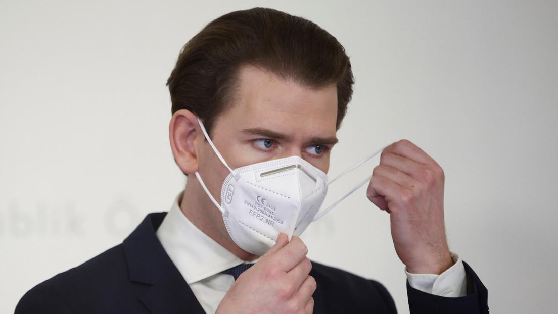 """El canciller de Austria critica el desigual """"bazar"""" de vacunas anticovid en la UE"""