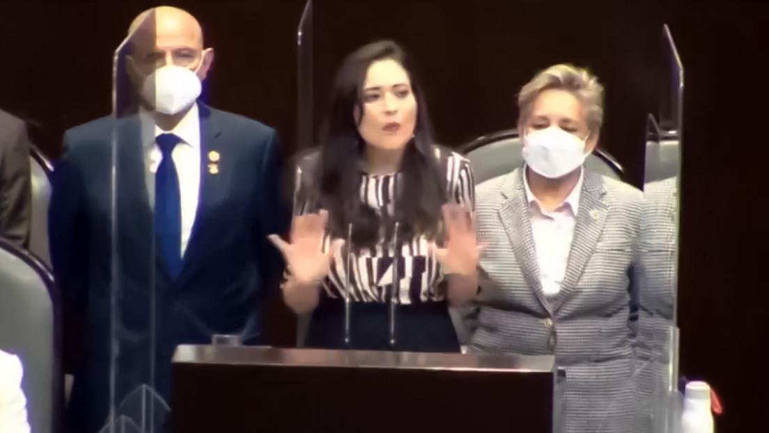 """""""Estar en un viaje durante cuatro días, ¿es eso lo que quieren?"""": El discurso antimarihuana de una diputada mexicana se vuelve viral (VIDEO)"""