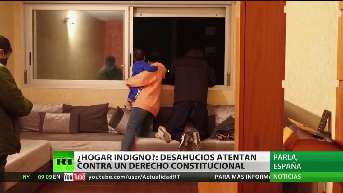 España: Desahucios atentan contra un derecho constitucional