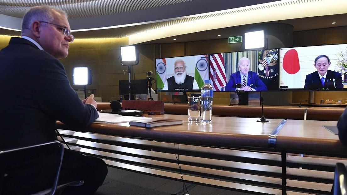 """EE.UU., Japón, Australia y la India celebran la primera reunión del grupo Quad y discuten el """"desafío"""" planteado por China"""
