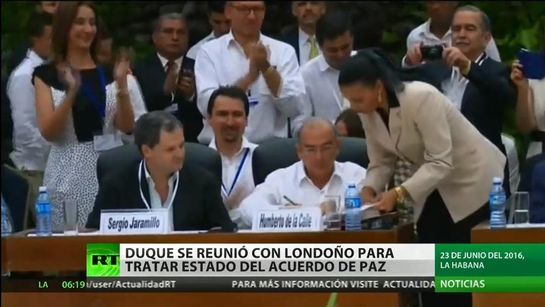 El presidente Iván Duque se reunió en secreto con Rodrigo Londoño para tratar el estado del acuerdo de paz en Colombia