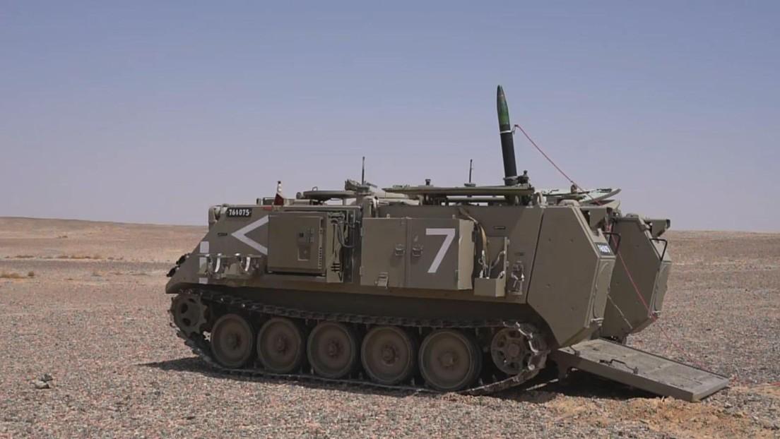 """VIDEO: Israel presenta una munición de mortero guiada por láser y GPS que """"va a revolucionar la guerra en tierra"""""""