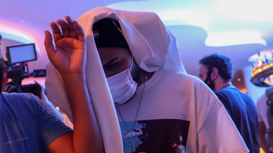 Detienen en Brasil en una fiesta clandestina al futbolista Gabigol, al músico MC Gui y a más de 200 personas