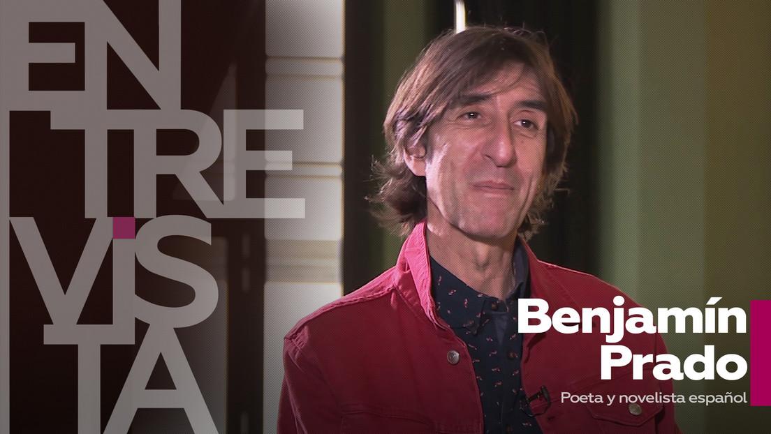¿Cuáles son los límites a la libertad? ¿se aprovechan las crisis? ¿qué es la cultura del picoteo?: Habla Benjamín Prado, poeta y novelista español