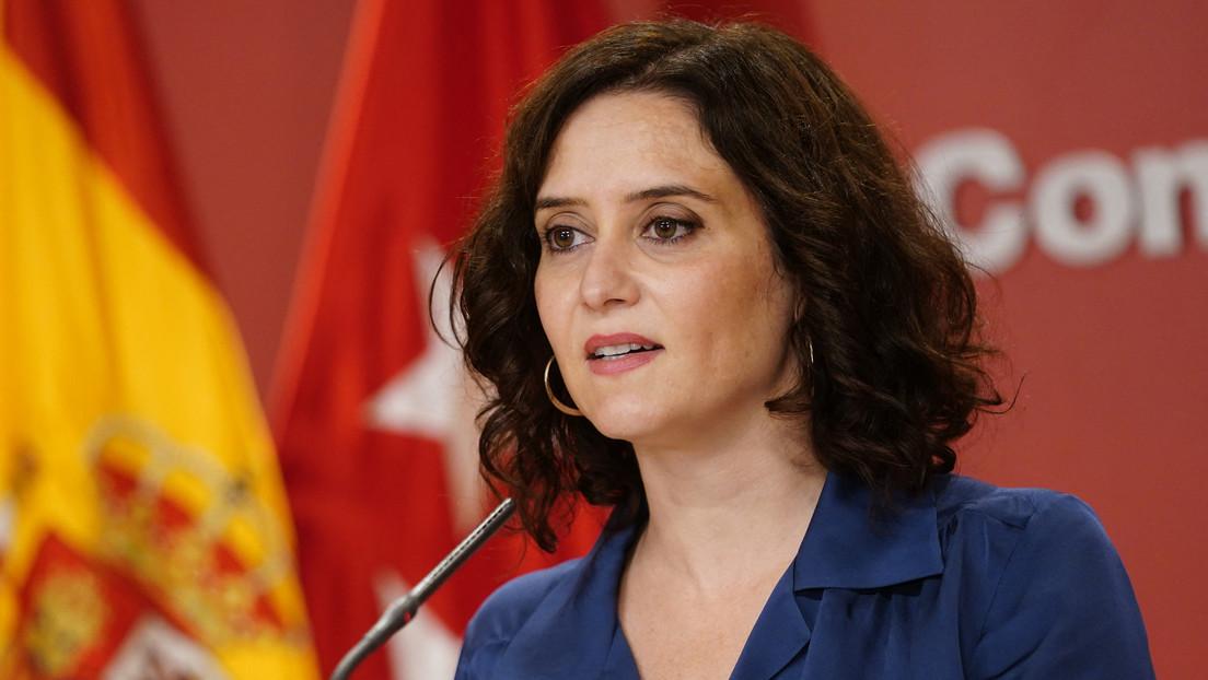 """La Justicia avala al adelanto electoral en Madrid y Díaz Ayuso dice: """"Cuando te llaman fascista es que estás en el lado bueno de la historia"""""""
