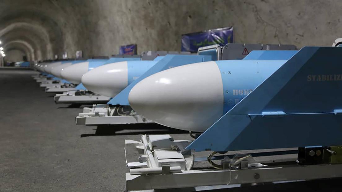 VIDEO: Irán muestra su nueva 'ciudad de misiles' subterránea repleta de armas