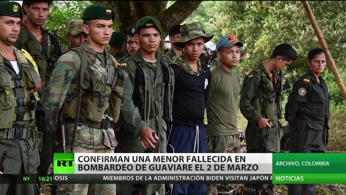 Colombia: Identifican a una menor entre las víctimas del bombardeo del Ejército