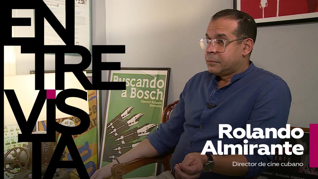 """Rolando Almirante, director de cine cubano: """"La salud del documental cubano no se ha quebrantado"""""""