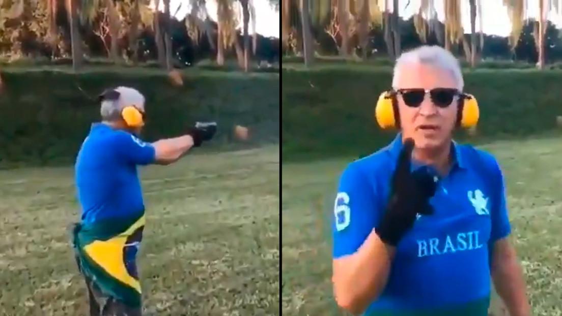 La Policía abre una investigación al empresario que amenazó a Lula en un video con un arma en la mano