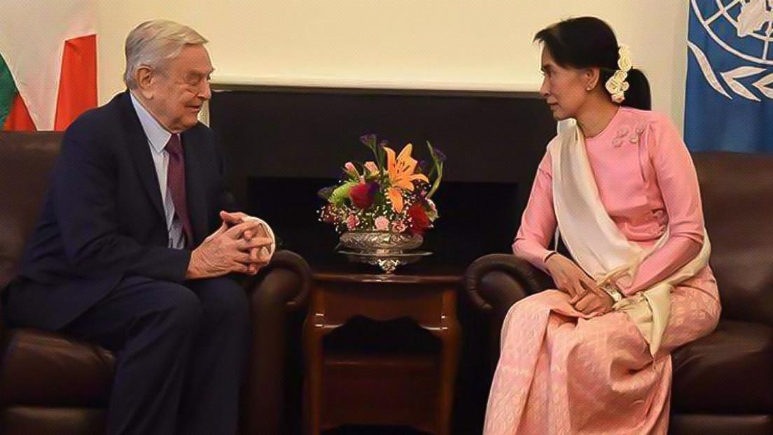 """Myanmar beschlagnahmt das Bankkonto von George Soros """"The Open Foundation"""" und ordnet die Verhaftung der 11 Mitarbeiter an"""