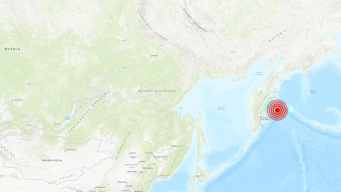 Un sismo de magnitud 6,6 sacude la península rusa de Kamchatka