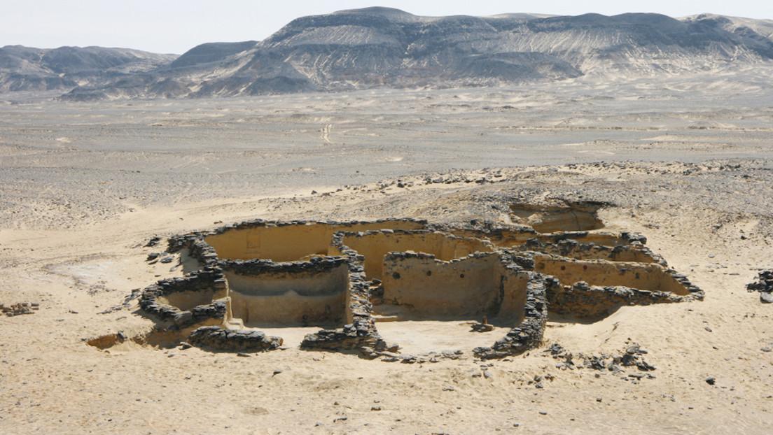 Descubren en un desierto egipcio nuevos restos de edificaciones cristianas de hace 1.500 años (FOTOS)