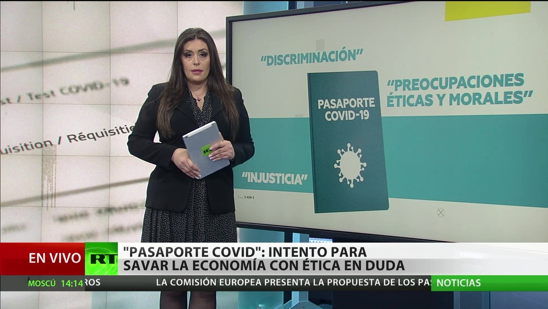 'Pasaporte de covid-19': Un intento para rescatar la economía, con ética en duda