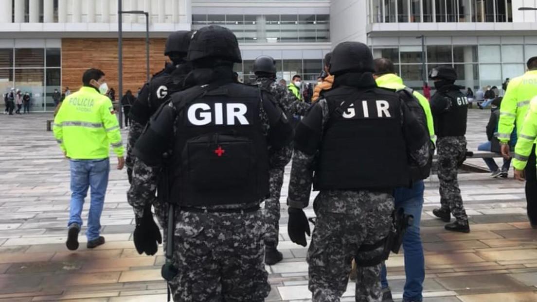 Allanan la sede del Ministerio de Salud de Ecuador en el marco de las investigaciones por las irregularidades en el proceso de vacunación