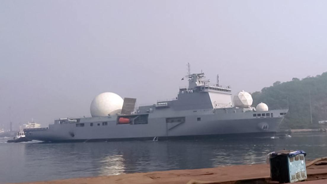India será el quinto país en tener un buque secreto de rastreo de misiles nucleares