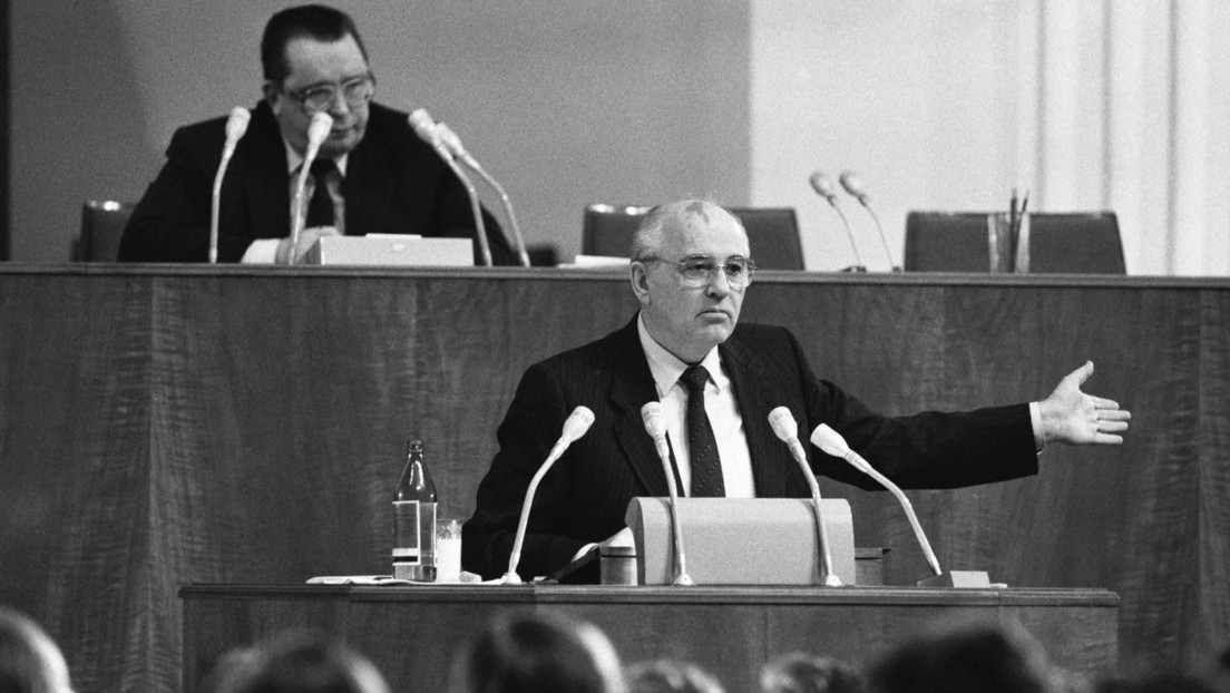 """El expresidente Mijaíl Gorbachov tacha de """"violación de la voluntad del pueblo"""" la disolución de la URSS"""