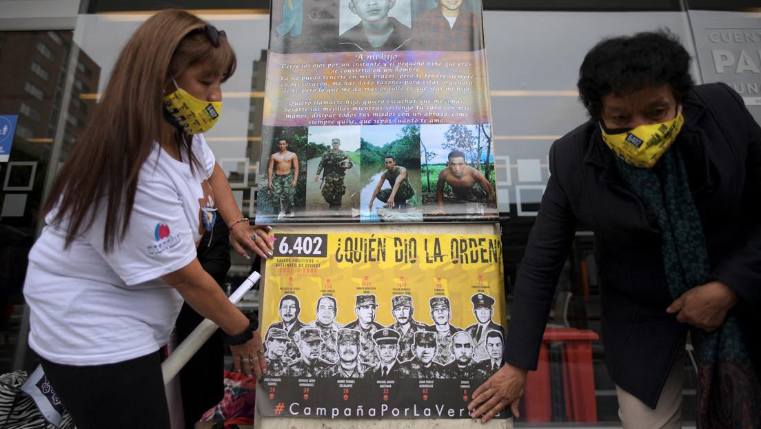 """Madres de """"falsos positivos"""" en Colombia entregan informe con testimonios de su difícil camino para obtener justicia"""
