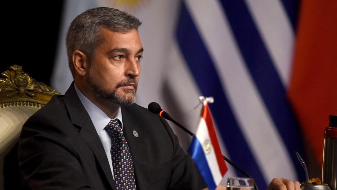 La Cámara de Diputados de Paraguay rechaza la propuesta de juicio político contra Mario Abdo y se desatan protestas