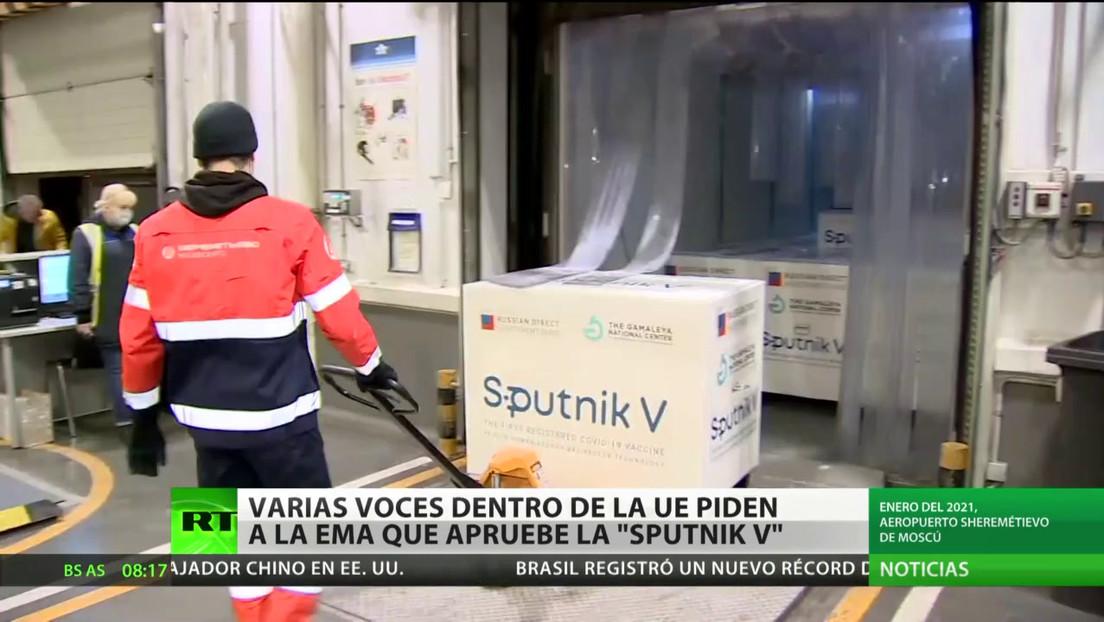 Varias voces dentro de la UE piden a la EMA que autorice la vacuna Sputnik V