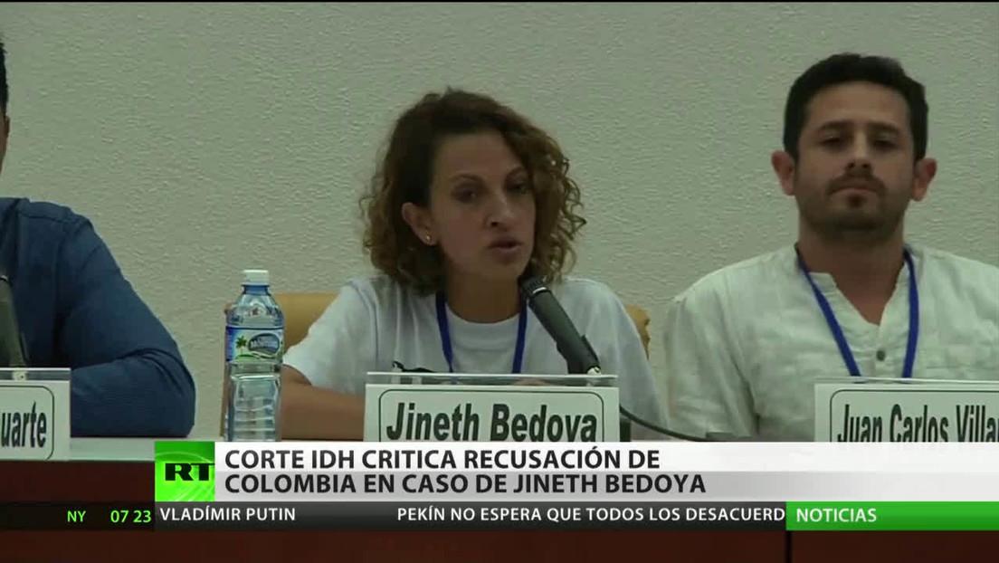 La Corte IDH critica la recusación de Colombia en el caso de Jineth Bedoya