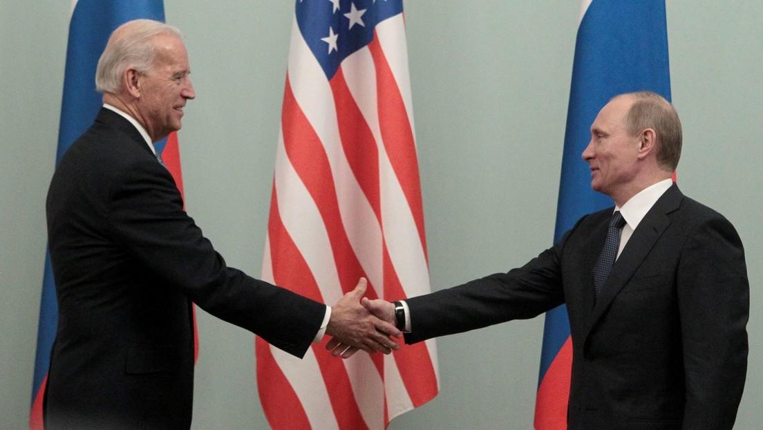 Putin le desea salud a Biden luego de que este lo llame