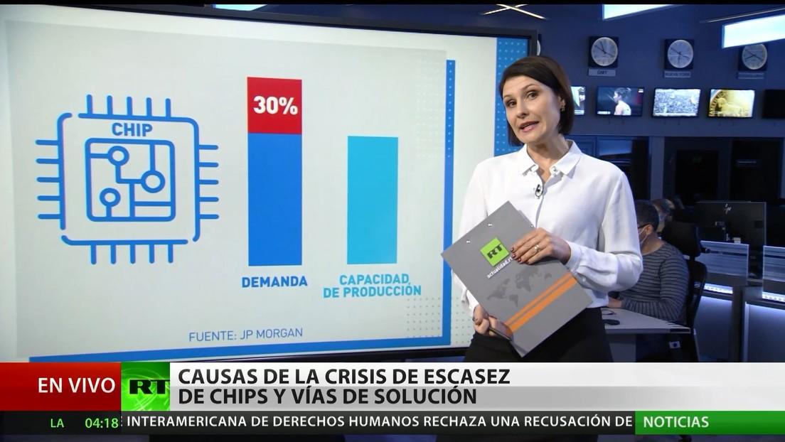 Causas de la crisis de escasez de chips y vías de solución