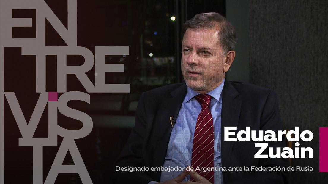 """Eduardo Zuain, designado embajador de Argentina ante Rusia: """"Hay muchos intereses políticos en la discusión sobre las vacunas"""""""