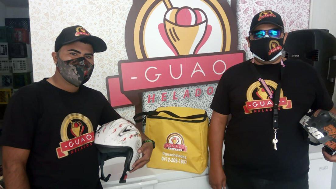 El oficio del 'delivery' en Venezuela: ¿una opción rentable para afrontar la crisis y la pandemia?