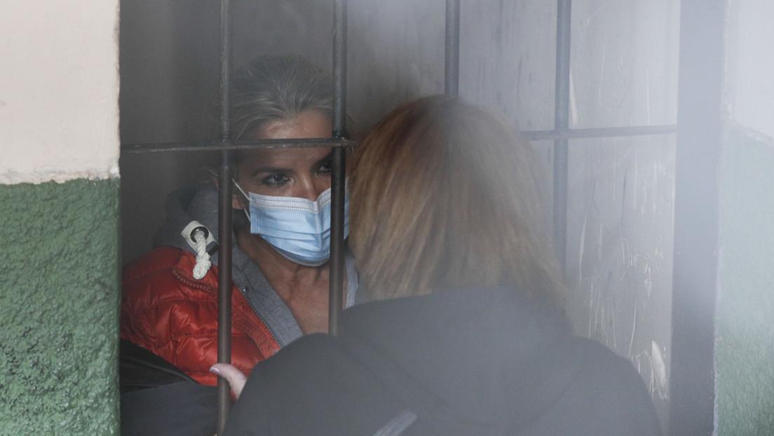 """Jeanine Áñez se declara en """"huelga de hambre"""" desde la cárcel donde está detenida"""