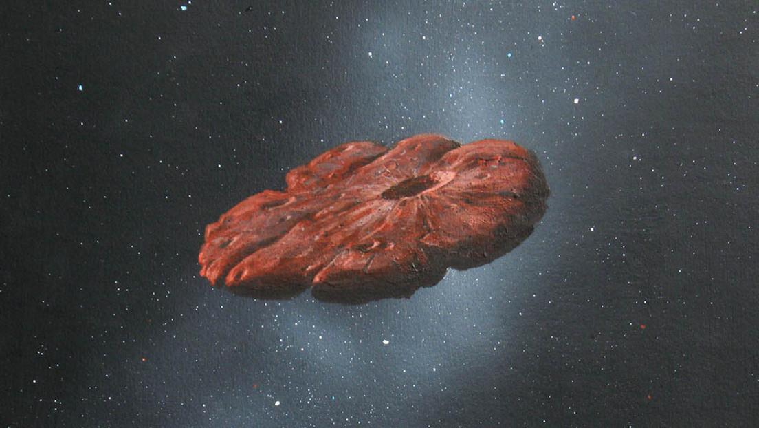 'Galleta cósmica': El famoso Oumuamua no es un asteroide ni un cometa