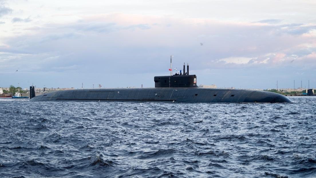 Tres submarinos de propulsión nuclear fortalecen la Armada rusa en 2021