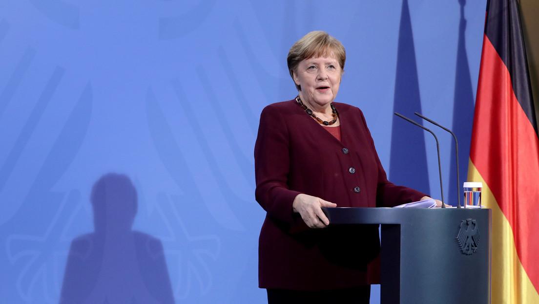 Merkel: Alemania está lista para ordenar la vacuna Sputnik V si el regulador europeo la aprueba