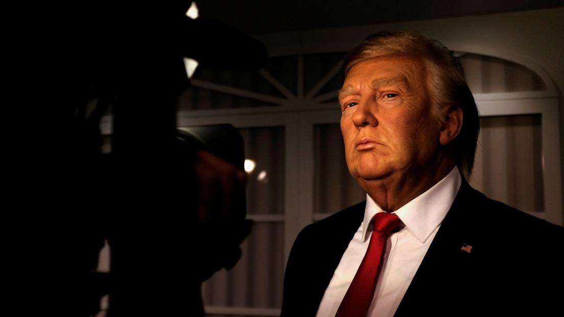Una figura de cera de Trump es retirada de un museo en EE.UU. tras ser vandalizada por visitantes