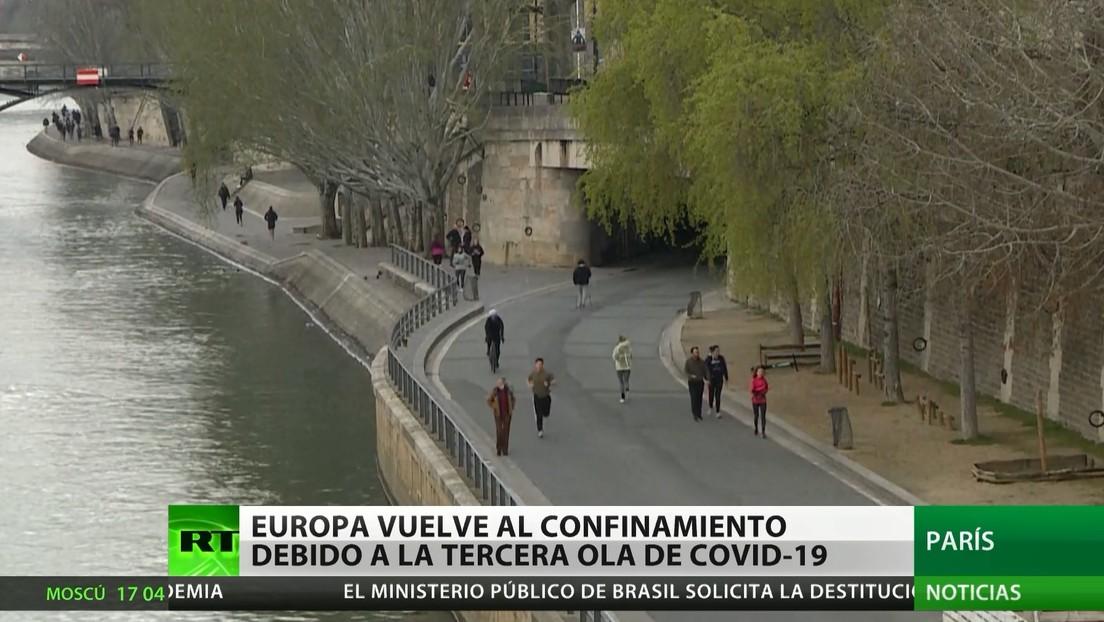 Europa endurece las restricciones debido a la tercera ola de coronavirus