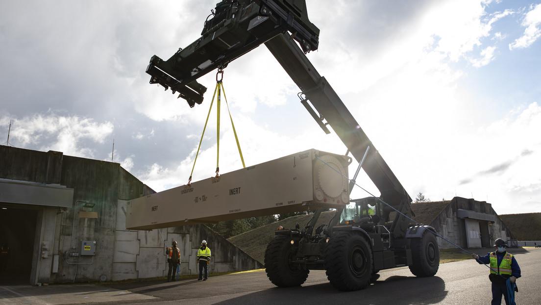 El Ejército de EE.UU. muestra los primeros módulos de su nuevo misil hipersónico