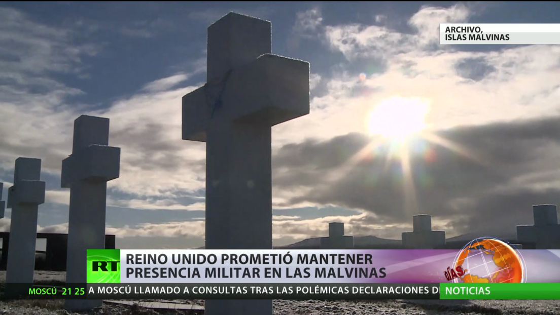 Reino Unido promete mantener presencia militar en las Islas Malvinas