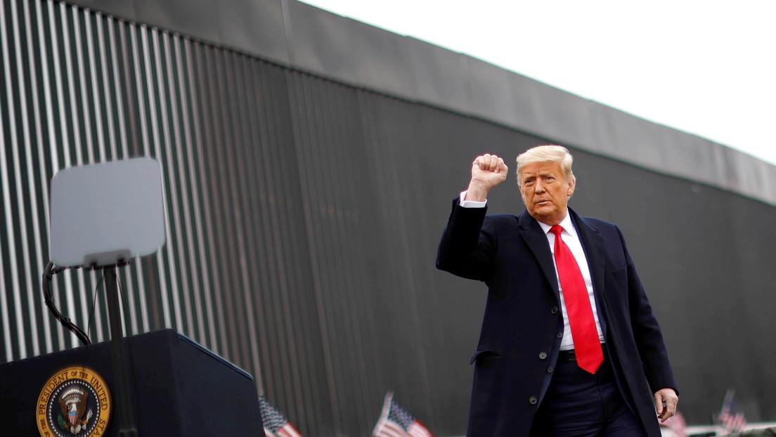 """""""Desastre nacional"""": Trump critica a la Administración Biden por no saber gestionar la crisis migratoria en la frontera con México"""