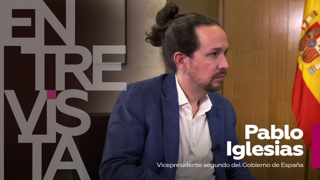 """Pablo Iglesias: """"Los neoliberales están escondidos y con mantas encima, nadie cuestiona ya la necesidad de hacer políticas expansivas"""""""