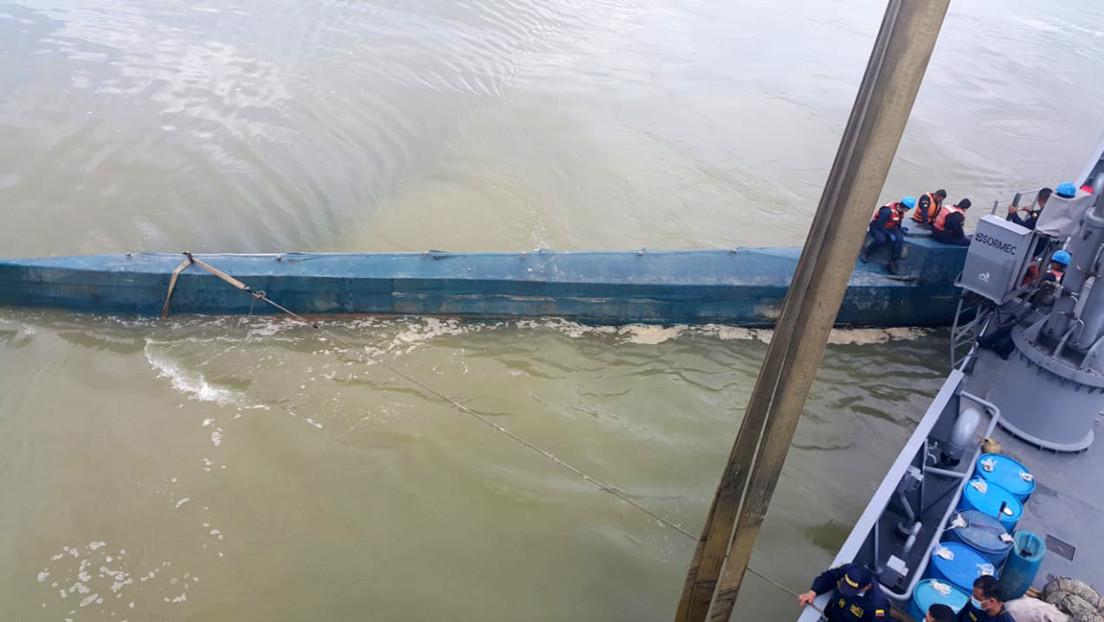 Incautan en Colombia un narcosubmarino con 400 kilos de cocaína que tenía como destino México