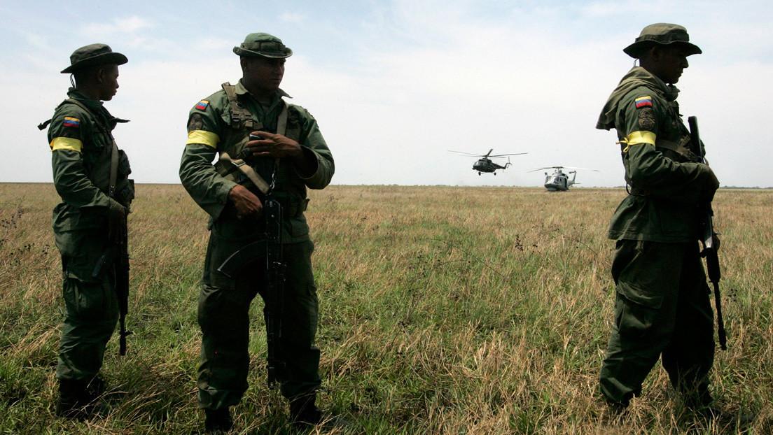 Dos militares venezolanos muertos y varios heridos en un enfrentamiento armado en la frontera con Colombia