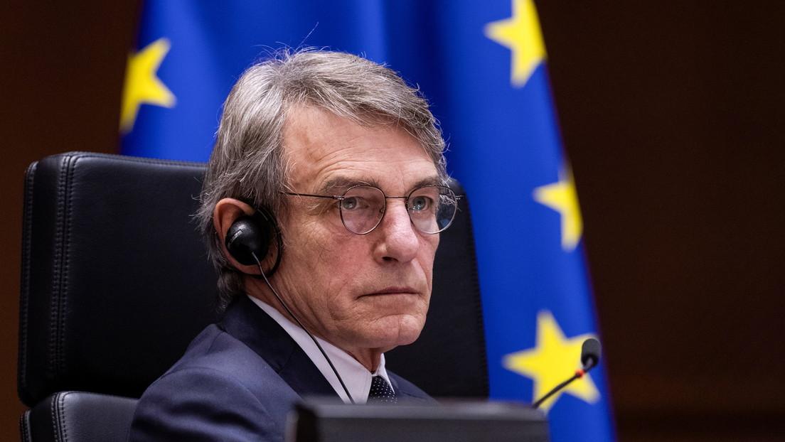 """""""Las sanciones de China contra diputados europeos son inaceptables y tendrán consecuencias"""", advierte el presidente del Parlamento europeo"""