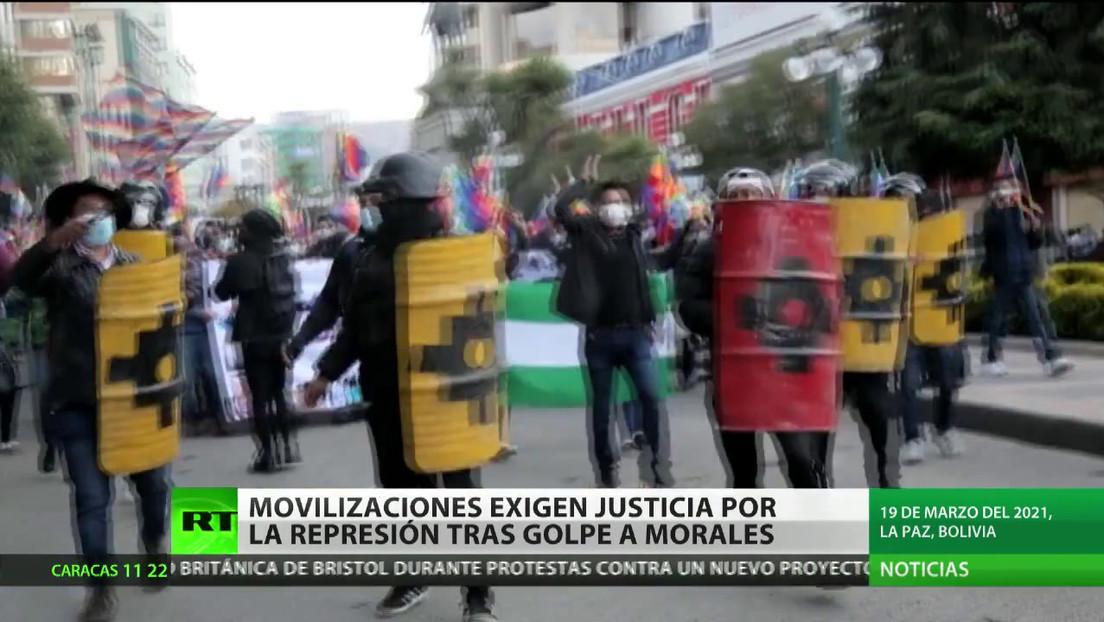 Movilizaciones exigen justicia por la represión tras el golpe contra Evo Morales en Bolivia