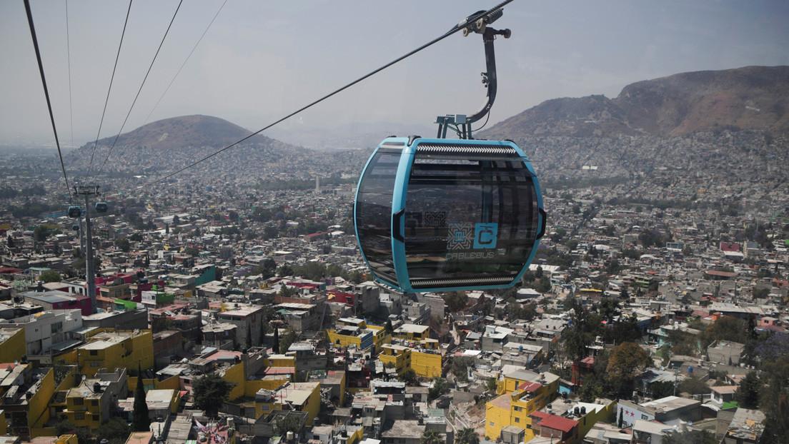 Media hora menos en el tráfico: Cómo un nuevo teleférico logra conectar las zonas más pobladas e históricamente abandonadas de Ciudad de México