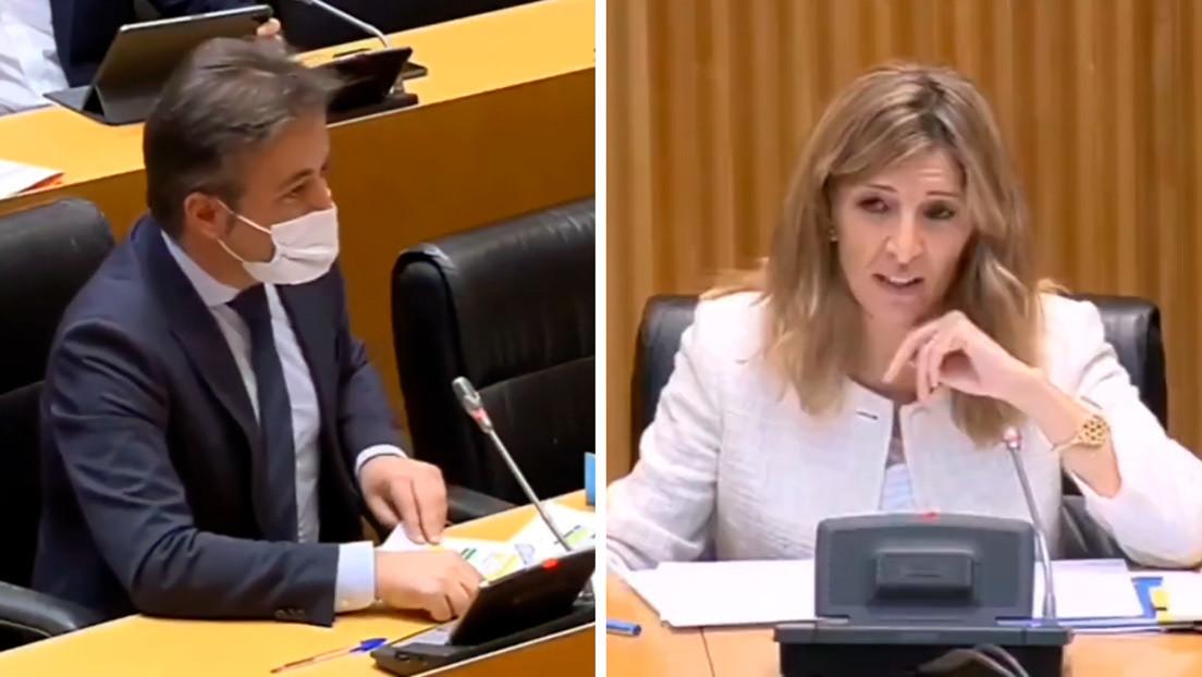 """""""En Podemos las mujeres solo suben si se agarran a una coleta"""": la declaración machista de un diputado en el Congreso español (VIDEO)"""