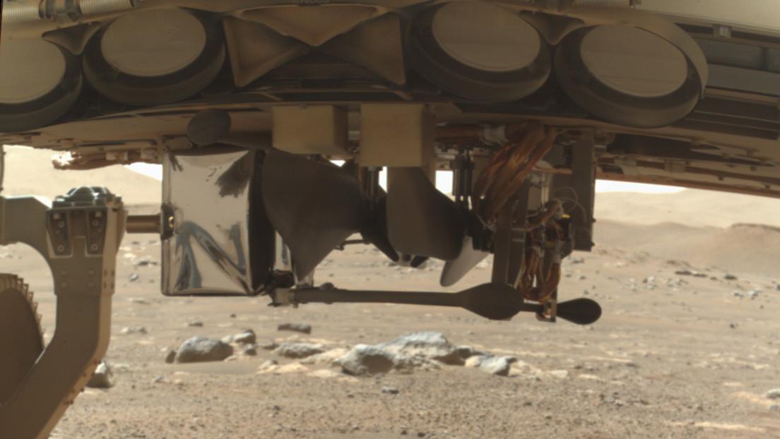 Empieza en Marte el despliegue del helicóptero Ingenuity, el primero que volará en otro planeta (FOTO)