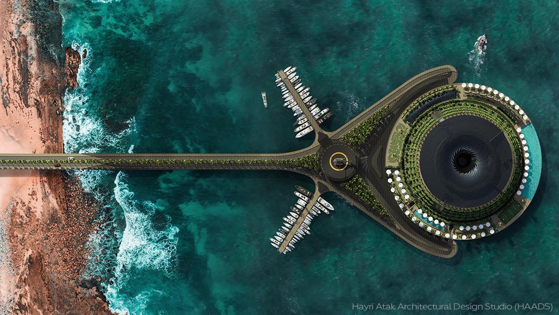 Catar tendrá un innovador hotel ecológico flotante (FOTOS)