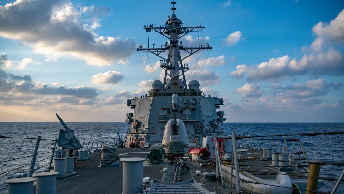 """EE.UU. insta a China a dejar de usar buques de guerra para """"intimidar"""" a barcos en el mar de la China Meridional"""