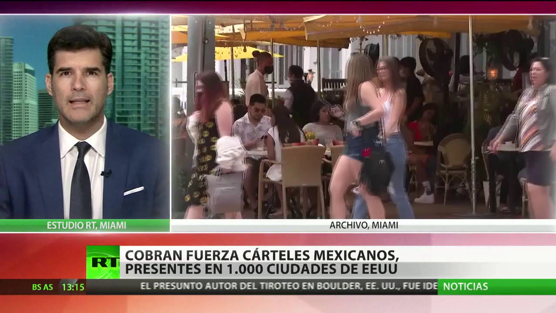 Cobran fuerza los cárteles mexicanos, presentes hasta en 1.000 ciudades estadounidenses