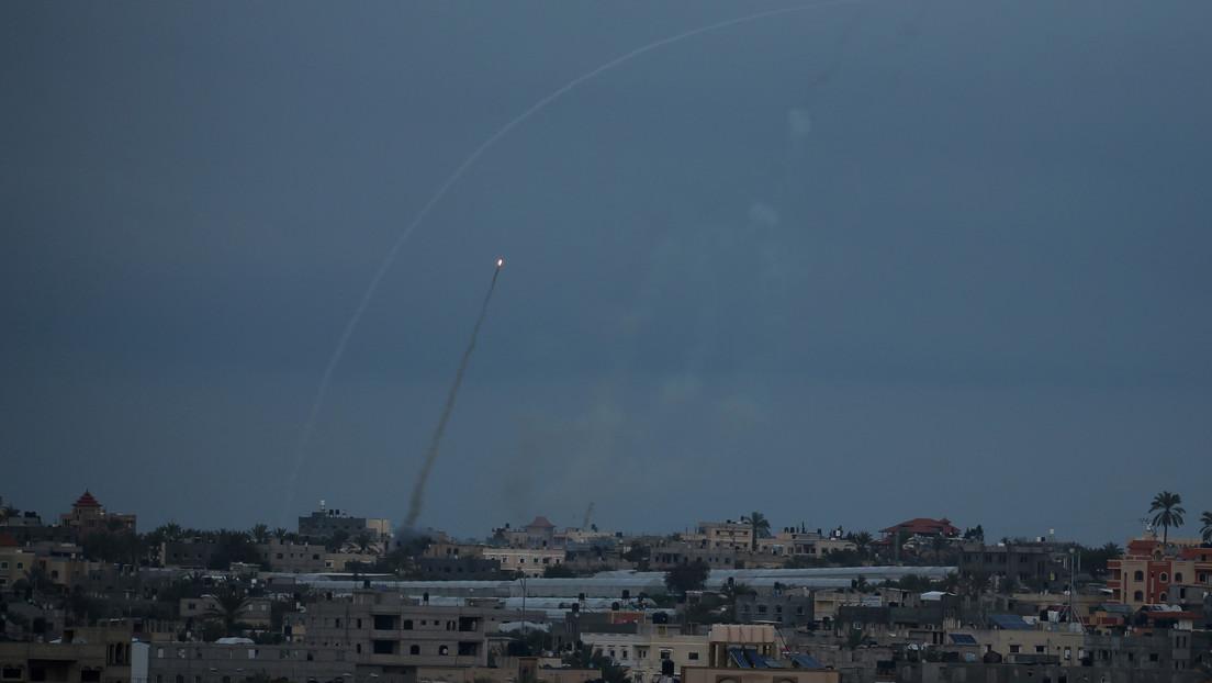 Lanzan un misil desde la Franja de Gaza hacia Israel el día de las elecciones parlamentarias